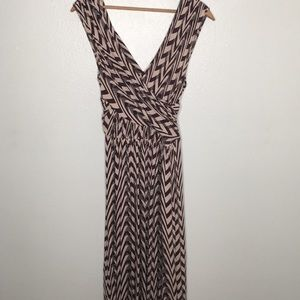 Plenty by Tracy Reese Printed V-Neck Dress Sz S